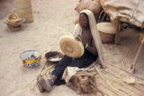 Timbuktu, woman weaving baskets