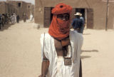 Timbuktu, Tuareg man in traditional clothing