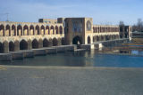 Esfahan, Khaju Bridge on Zayandeh River