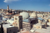 Jerusalem, view of Church of Holy Sepulchre