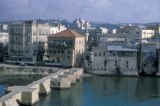 Sidon, causeway across water to Crusader Sea Castle