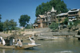 Srinagar, boats on Jhelum river