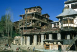 Srinagar,  riverfront houses