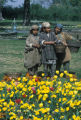 Srinagar, children by Jhelum river