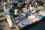 Karachi, vendors at outdoor market