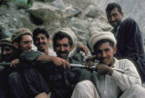 Karimabad, group of men in mountains