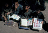 Karimabad, boys with books