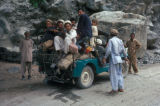 Gilgit, travelling on mountain road