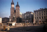 Cracow, St. Mary's Church in Main Market Square