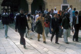 Delhi, tourists at Red Fort site