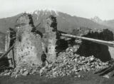 Ruins at Mazaire in Svanetia