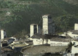 View of traditional Svanetian homes and towers