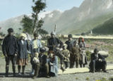 Svanetian villagers in Mazaire