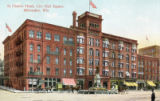 St. Charles Hotel, City Hall Square, Milwaukee, Wis.