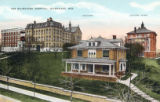 The Milwaukee Hospital, Milwaukee, Wis., Rectory, Layton Home