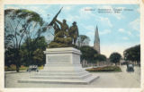 Soldiers' Monument, Grand Avenue, Milwaukee, Wis.