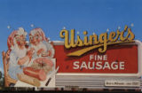 Usinger's elves on Milwaukee billboard