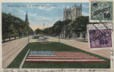 "Floral Flag, ""Court of Honor,"" Milwaukee, Wis."