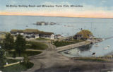 McKinley bathing beach and Milwaukee Yacht Club, Milwaukee, Wis.