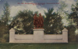 Goethe-Schiller Monument. Washington Park, Milwaukee, Wis. No. 140.