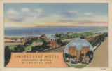 Shorecrest Hotel overlooking beautiful Milwaukee Bay