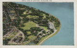Aerial view of Lake Park, Milwaukee, Wis.