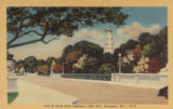 View of North Point Lighthouse, Lake Park, Milwaukee, Wis. -- D-19