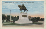 Memorial to Maj. Gen. Steuben at Steuben Square, Milwaukee, Wis.