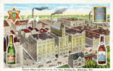 General Offices and Plant of the Val. Blatz Brewing Co., Milwaukee, Wis.
