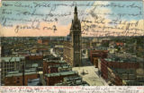 View from Pabst Bldg. looking north, Milwaukee, Wis.