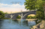 Capital Drive Bridge, spanning Milwaukee River, Milwaukee, Wis.