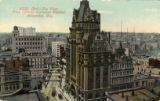 Bird's-eye view from Railway Exchange Building, Milwaukee, Wis.