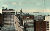 Bird's-eye view of Milwaukee, Wis., from Pabst Building