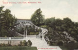 Grand  stairway, Lake Park, Milwaukee, Wis.
