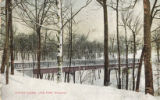 Winter scene, Lake Park, Milwaukee