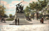 Soldiers Monument.  Grand Avenue. Milwaukee