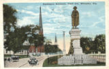 Washington Monument, Grand Avenue. Milwaukee, Wis.