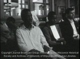 News film clip of Vel Phillips speaking on fair housing legislation, June 13, 1967 (with sound)