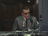 County Supervisor Richard Nowakowski press conference, September 14 1967 (partial)