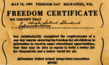 1 Freedom Day School, freedom...
