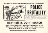 20 Police brutality handout, 1965...