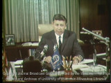 News film clip of interview with Mayor Henry Maier about the civil disturbance, held July 31, 1967