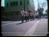 News film clip of a White Power march in Milwaukee, September 23, 1967 [silent]