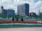 Northwestern Mutual Life Insurance Company buildings, view from O'Donnell Park