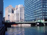 Milwaukee River Downtown, Skywalk at the BankOne Plaza