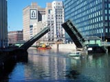 Milwaukee River Downtown, Michigan Street Bridge