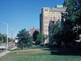 Marquette University Memorial Library and Wehr Physics Building, E.A. Plankinton House