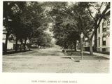 Cass Street, looking north from Biddle (Kilbourn Avenue)