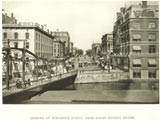 Wisconsin Avenue (Wisconsin Street), looking east from Milwaukee River