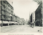Wisconsin Avenue (Grand Avenue), looking east from Seventh Street